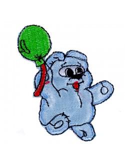 Детска апликация мече с балонче