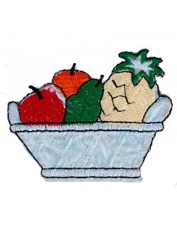 Апликация - купа с плодове
