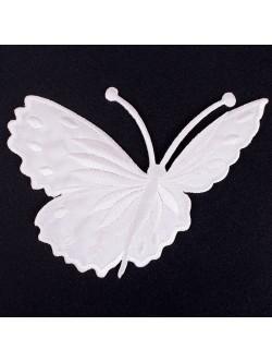 Апликация пеперуда - бяла