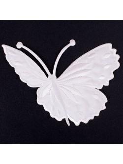 Апликация пеперуда - бяла дясна