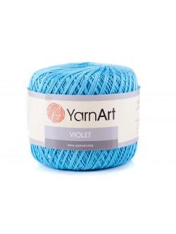 Прежда ЯрнАрт Виолет светло синьо