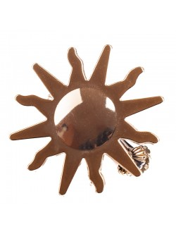 Щипка за перде - златисто слънце