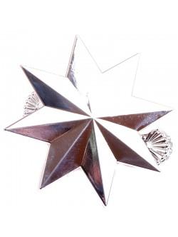 Щипка за перде - сребриста звезда