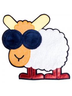 Апликация овца 26 см.