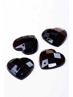Черни камъни - сърца