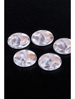 Обли бели камъни 16 мм.