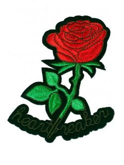 Апликация за дрехи - роза