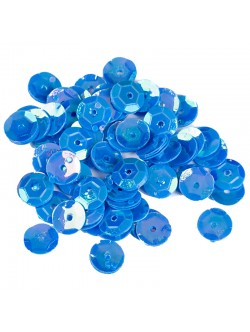 Сини пайети