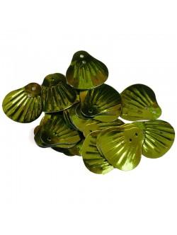 Зелени пайети люспи