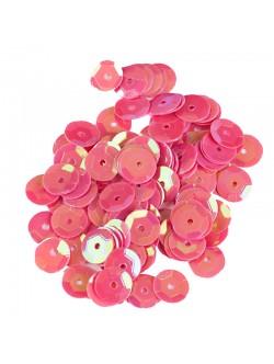 Бомбонено розови пайети