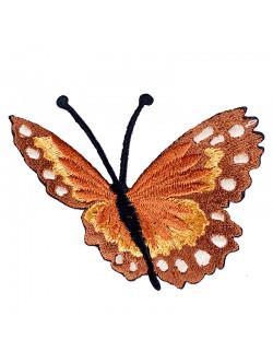Кафява пеперудка със залепване - дясна